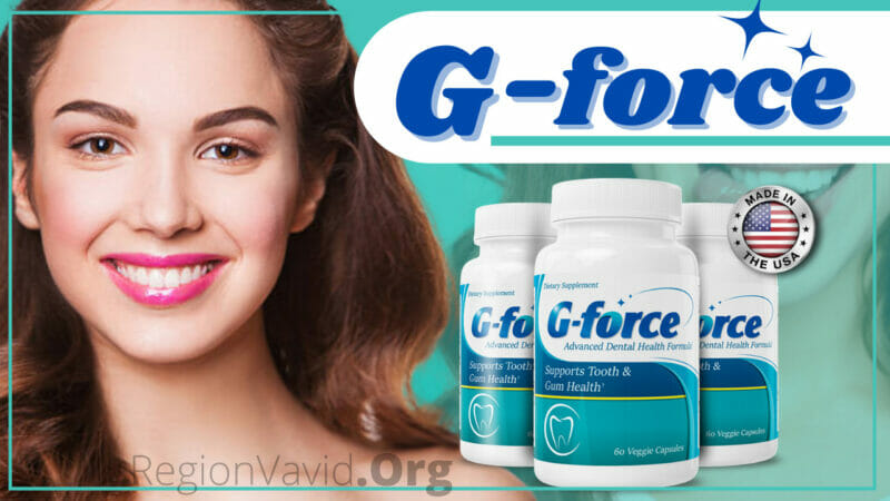 G-force Supplement Show Off That Beautiful Smile