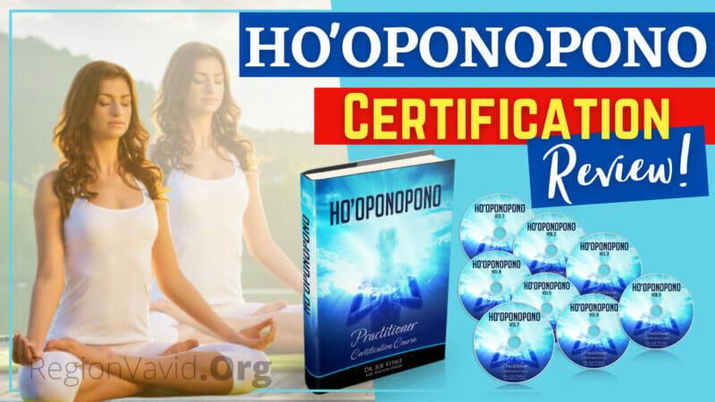 Ho'oponopono Certification Manifest Life Now