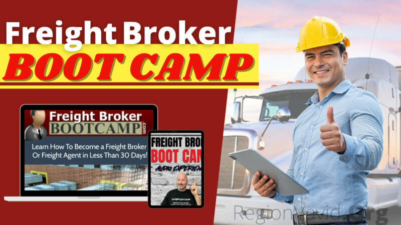 Freight Broker Boot Camp Get Yours Now