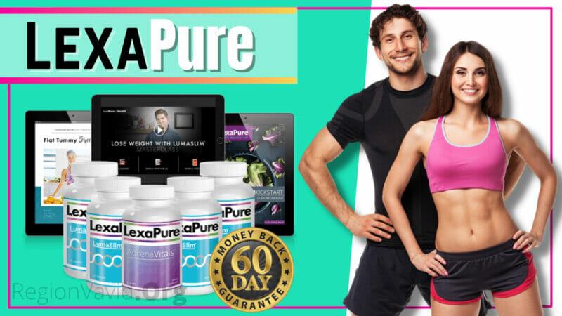 LexaPure LumaSlim Get Fit Body You Deserve