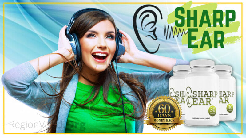 SharpEar Supplement Natural Supplement for Hearing Health