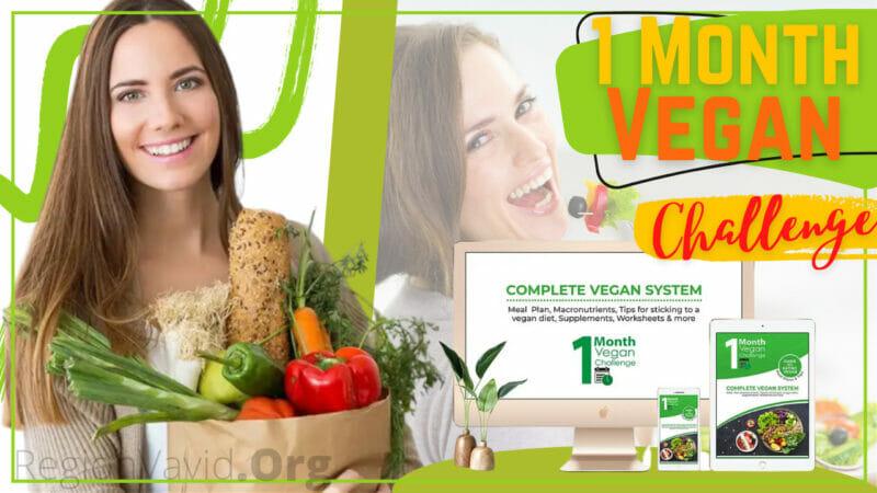 1 Month Vegan Challenge Take Action Now