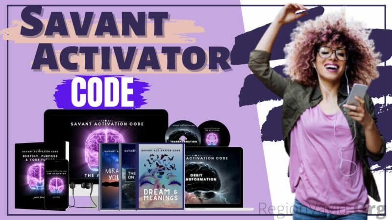 The Savant Activation Code Now