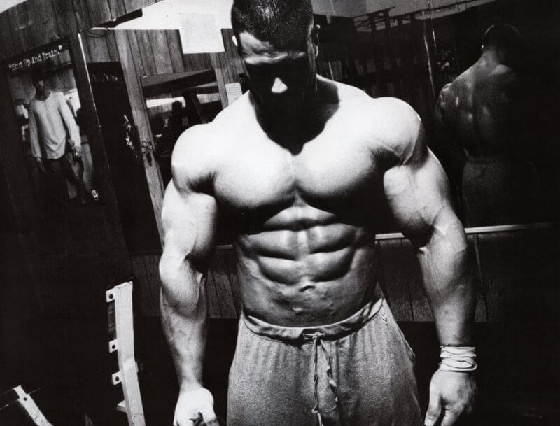 a musculine man
