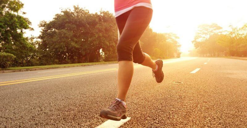 running feet feature