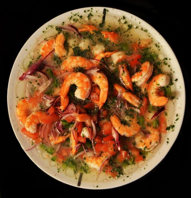 shrimp keto dish