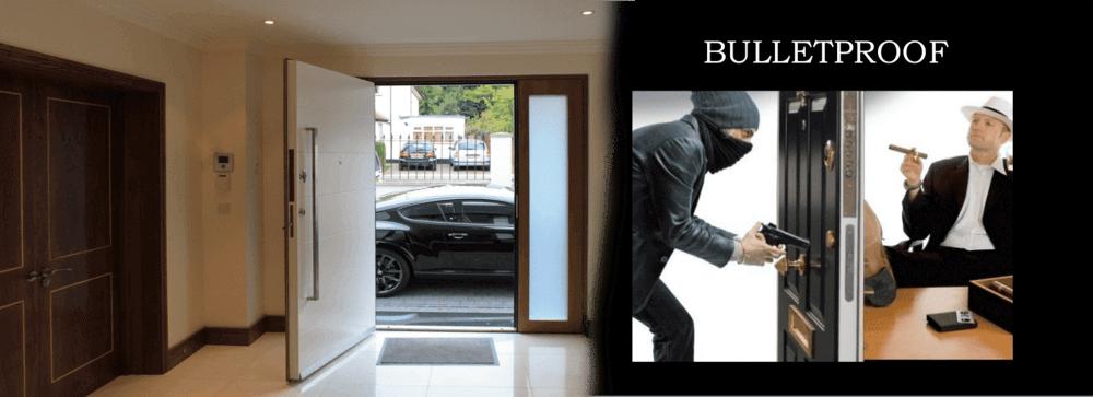 bulletproof house illustration