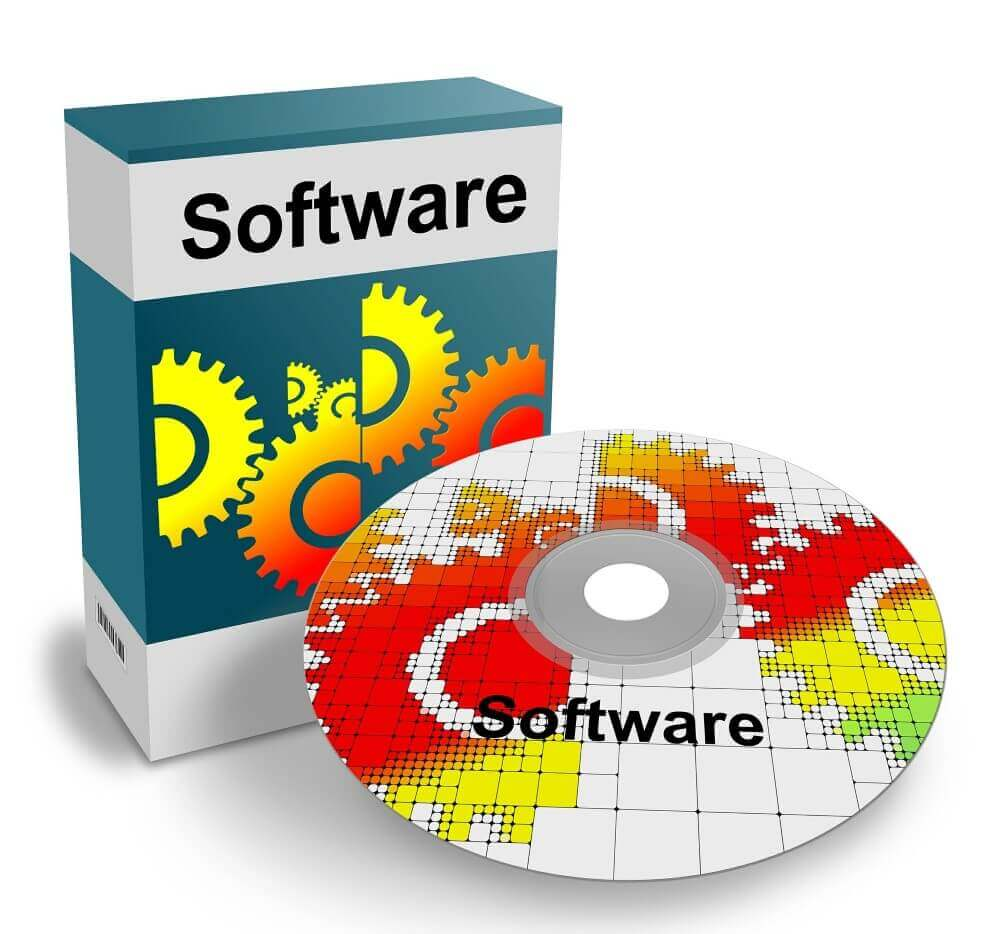 a software and a disk
