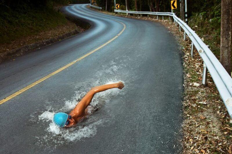 swimming-in-asphalt