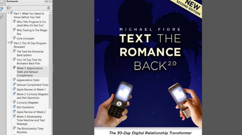 Text the romance back 2.0 online dating