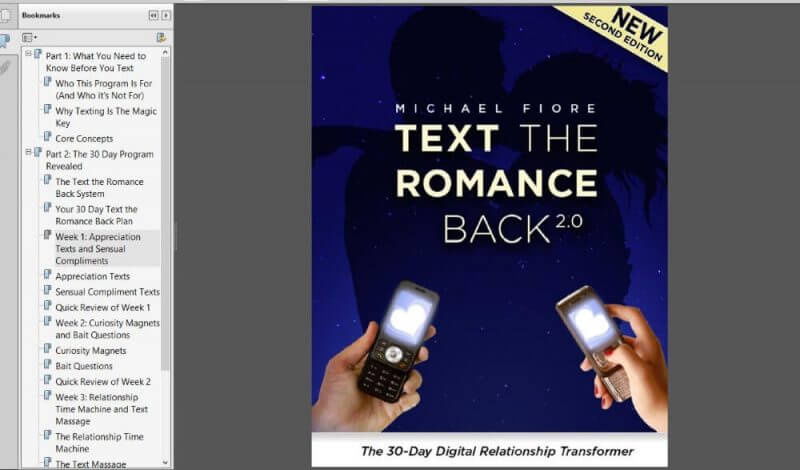 Text The Romance Back Unbiased Review!