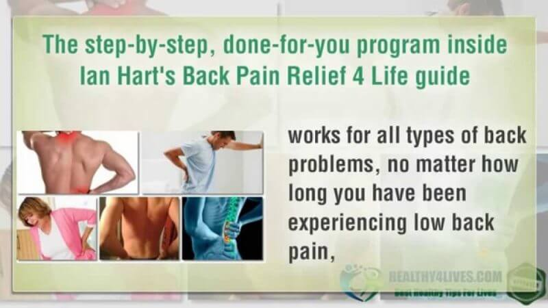 back pain relief 4 life guide