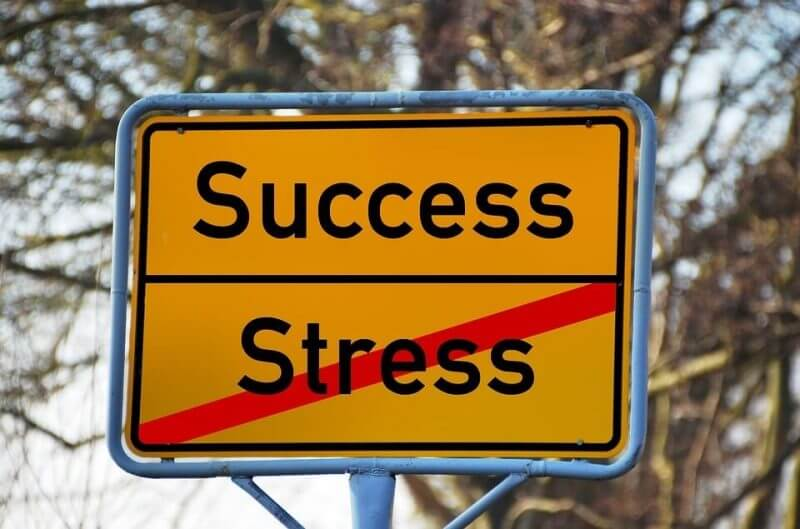 stress to success