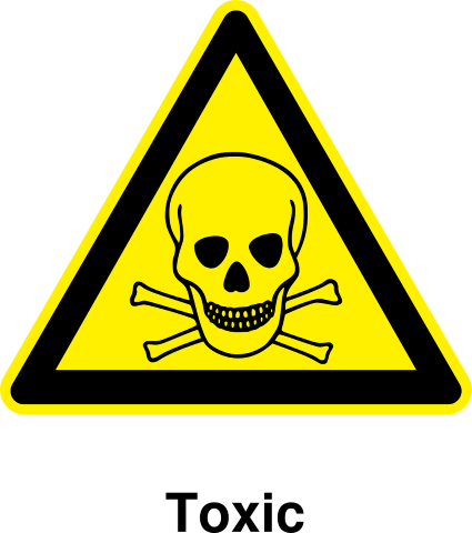 toxic metal flush warning