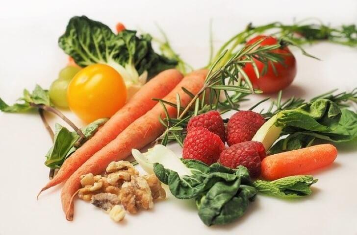Keto VIP Club represented by vegetables