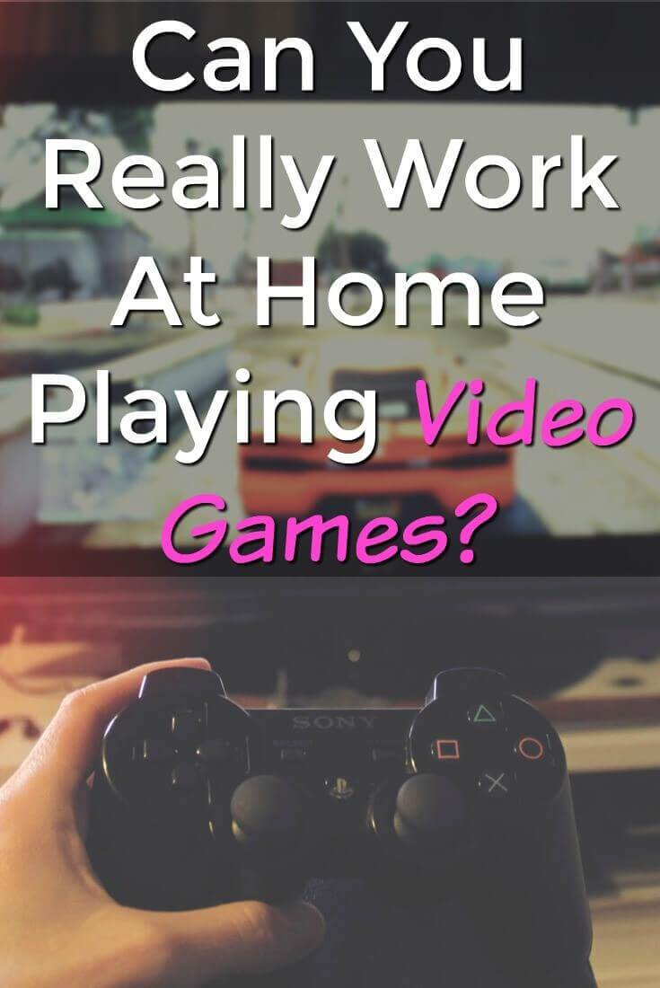 can you really work at home playing video games