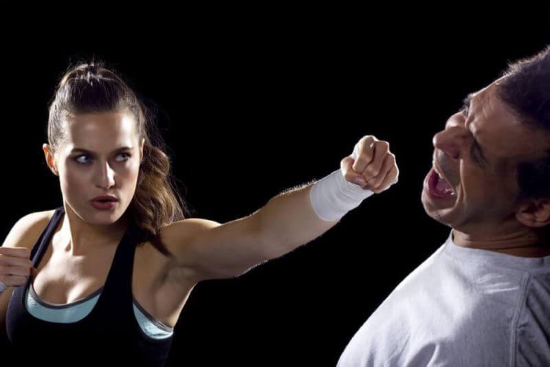 woman defense
